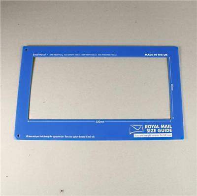 Royal Mail Size Guide Postage Postal Template Ruler, Postage Guide PIP Parcel