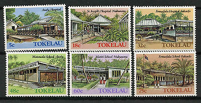 Tokelau 1986 Architecture  MNH