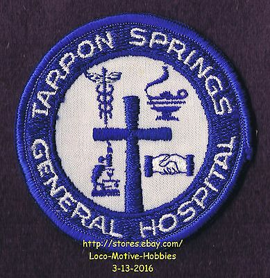 LMH Patch TARPON SPRINGS Florida GENERAL HOSPITAL Medical Center NORTH PINELLAS