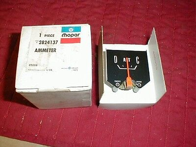 Nos Mopar 1962-69 Dodge Truck Ammeter Gauge Most Models