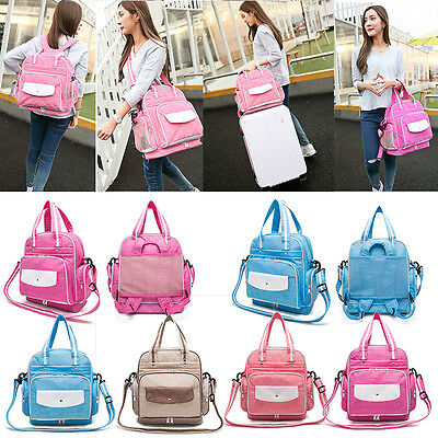 Waterproof Baby Mummy Changing Nappy Backpack Diaper Shoulder Bag Multifunction