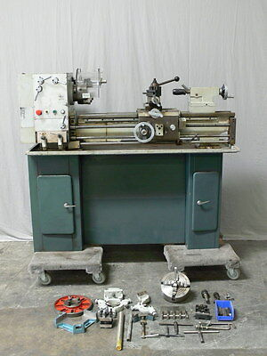 Acra Turn Lathe  Model 12 x 36GH w/ Attachments & spare Parts  S/N 19629