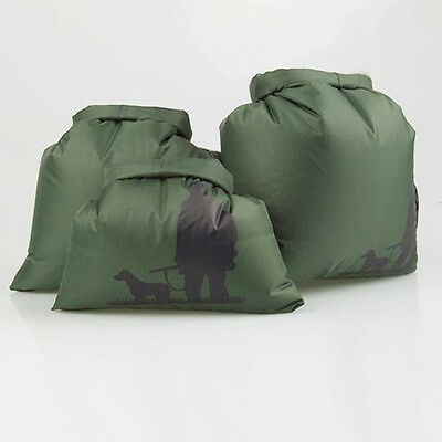 3PCs Waterproof Dry Sack Bag Pouch for Canoe Floating Boating Kayak Camping New