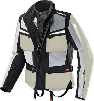 Spidi Netforce H2Out Jacket Ice/black 2X