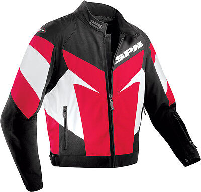 Spidi Trackster Tex Jacket Black/redx