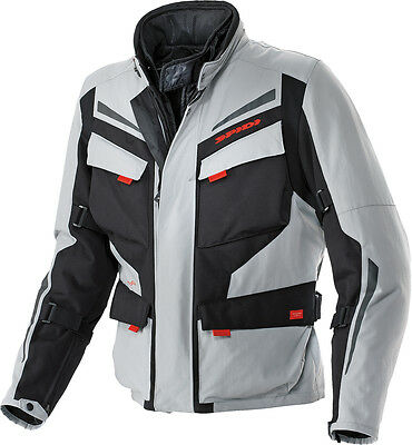 Spidi Voyager 2 H2Out Jacket Black/grey 3X