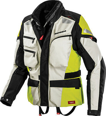 Spidi Voyager 3 Jacket Flo. Yellow 2X