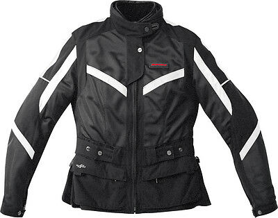 Spidi Netwin All Season Ladies Jacket Black/white L