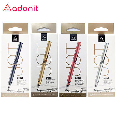 Adonit Jot Mini Fine Point Precision Stylus for Apple iPad iPhone iOS Android LE