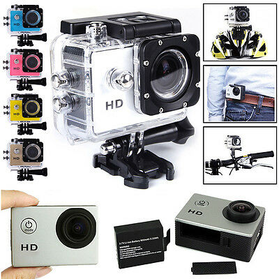 2.0 inch 30M Waterproof Sport DV Action Fully HD 1080P Camera Camcorder Car DVR