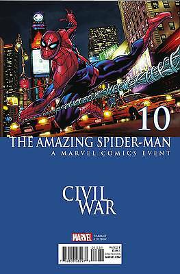 Amazing Spider-man Vol 4 # 10 Civil War Variant Cover NM Marvel