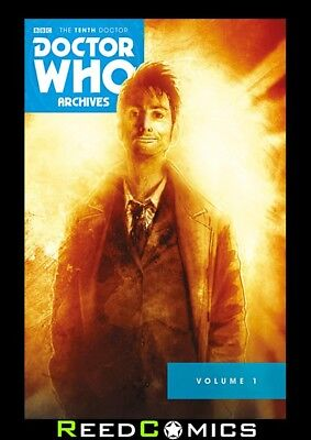 DOCTOR WHO 10th ARCHIVES OMNIBUS VOLUME 1 GRAPHIC NOVEL New Paperback