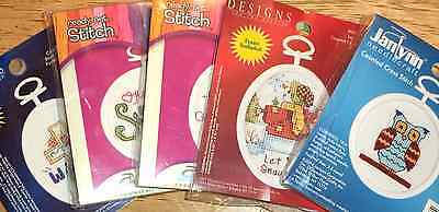 Janlynn Mini Counted Cross Stitch Kits EASY Great for Kids, Beginners YOU CHOOSE