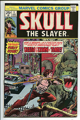 Skull The Slayer #1 - Death at the Dawn of Time! - 1975 (Grade 8.0)