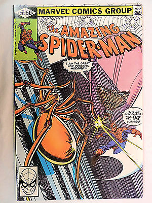 THE AMAZING SPIDER-MAN #213 Marvel Comic Book (NM-)