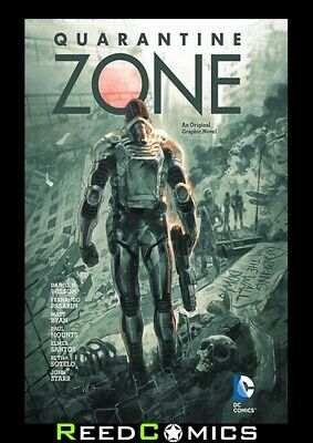 QUARANTINE ZONE HARDCOVER New Hardback by DC Comics