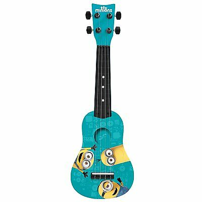 Universal Minions Mini Guitar by First Act, Kids Toy Guitar, MN285, NEW