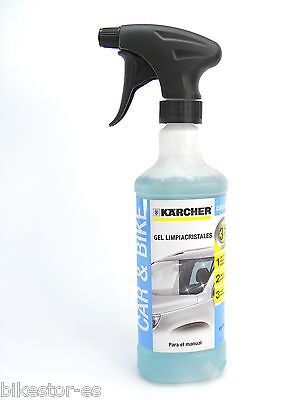 Kärcher Car & Bike Coche Gel Limpiacristales 500 ml 3 en1 Karcher