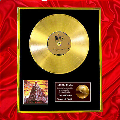 In Flames The Jester Race Cd Gold Disc Free P+P!