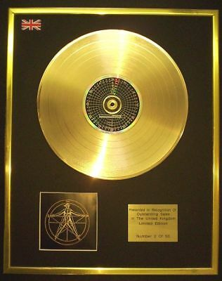 Enigma The Cross Of Change Cd Gold Disc Record Free P&p