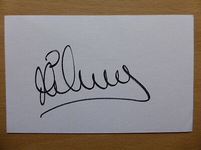 Hand Signed Football Index Cards *****O***** Page 2