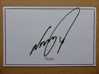 Hand Signed Football Index Cards *****N***** Page 1