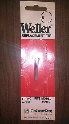 Weller Replacement Tip for MP126 Tip #MP131 D-79 BRAND NEW OLD STOCK MADE IN USA