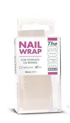 The Edge Nails Silk Nail Strip 18inch Non Frying Mesh Creates Thin Strong Nails