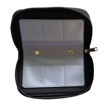 Memory Card Storage Carrying Case Holder Wallet Fr CF/SD/SDHC/MS/DS 3DS Games FK