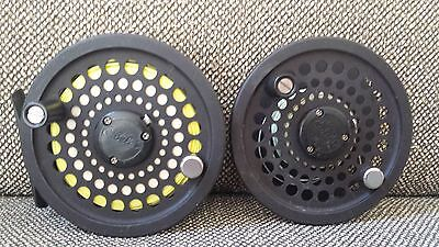 Cabela's CD3 Fly Reel with Extra Spool and Line Very Good Condition