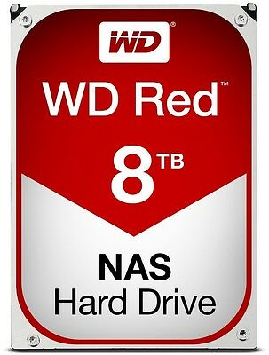 "WD Red WD80EFZX 3.5"" 8TB 128MB 5400RPM NAS HDD[WD80EFZX]"