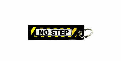 Insert after flight keychain tag Remove before aviation jet fuel no step moto