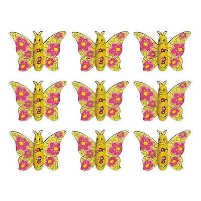 50 Chocolate Butterflies-Kids Birthday Fairy Parties Lolly Bags Gifts Promotions