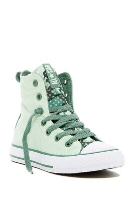 Converse 649970F Ct Slip It Hi M Mint Julep/S Youth Sz: 3.5~6 Available
