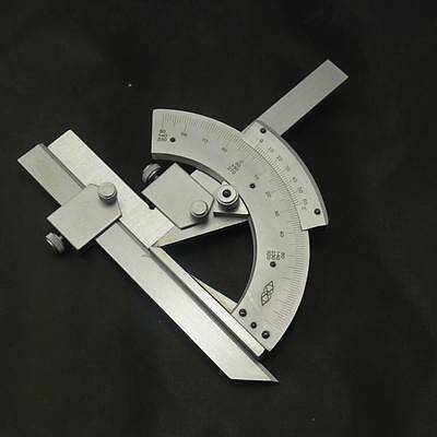 Universal Bevel Protractor 0-320° #A Angular Dial Stainless steel angle Gauge