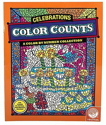 Mindware Color Counts: Celebrations (Colouring Book) MindWare