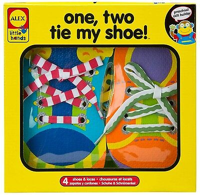 ALEX Toys - Early Learning 1 2 Tie My Shoe - Little Hands 570WN Alex