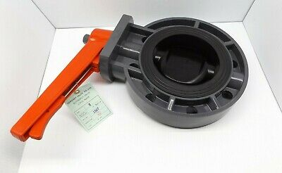 "Legend 201-268 6"" S-650 Pvc Butterfly Valve With Lever Handle"