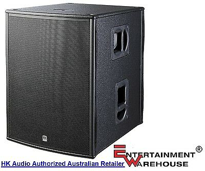 HK Audio  PL 118SUBA 1200watt, 18inch Powered Subwoofer - Made In Germany