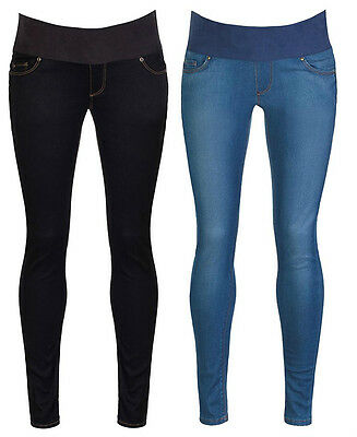 Womens Ladies Maternity Skinny Pregnancy Jeggings Leggings Under Bump Liner
