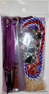 Witches Ladder Triple Moon Pentagram Spell Kit