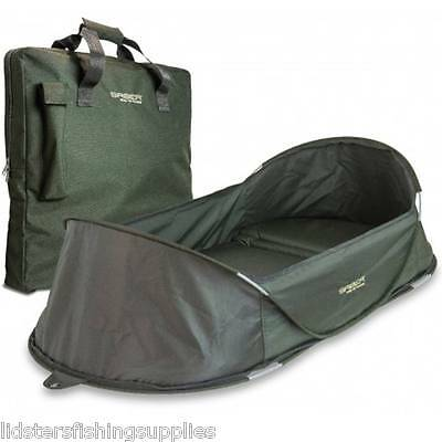 Saber Quick Mat Pop Up unhooking Mat Cradle With Carry Case Padded Fishing