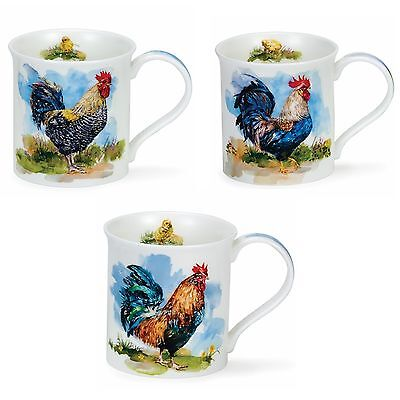 Dunoon Bute Mugs - Cockerels