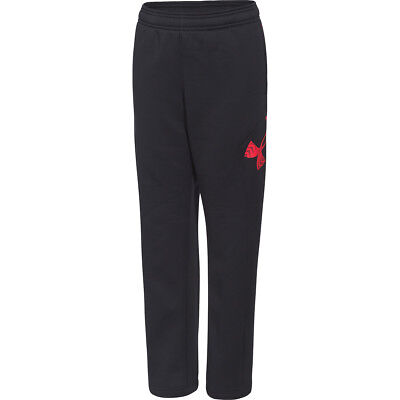 Boy's Under Armour Storm Armour Fleece Big Logo Pants Carbon Heather