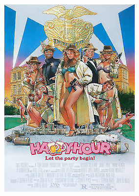 Happy Hour (1986) - A1/A2 POSTER **BUY ANY 2 AND GET 1 FREE OFFER**
