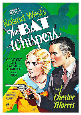 The Bat Whispers (1930) - A1/A2 POSTER **BUY ANY 2 AND GET 1 FREE OFFER**