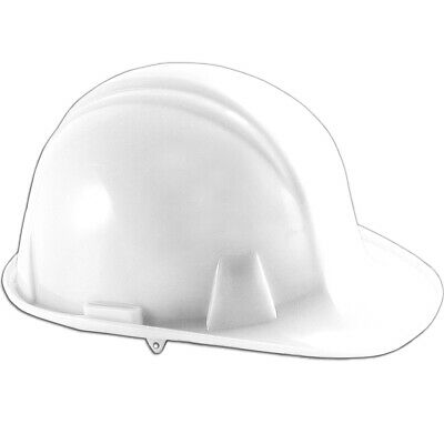 Pyramex Hard Hat - Ratchet Suspension - White