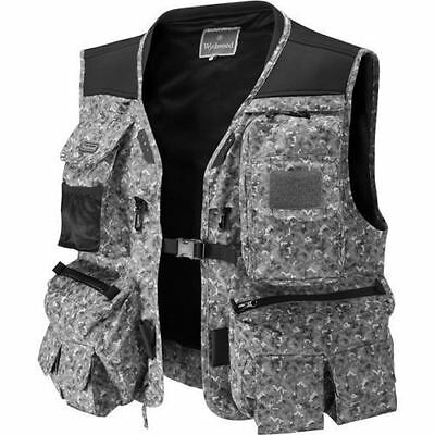 Wychwood Game Long Fly Vest Grey DigiCamo Fishing All Sizes