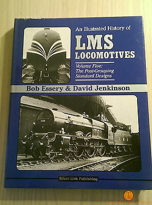 An Illustrated History of LMS Locomotives Volume 5 : Post-Grouping Std. Designs