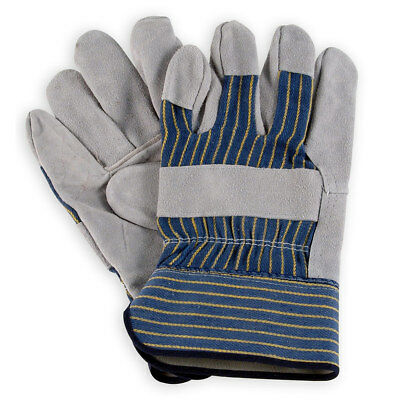 Mens Leather Palm Work Gloves by Wells Lamont - 3106 - M